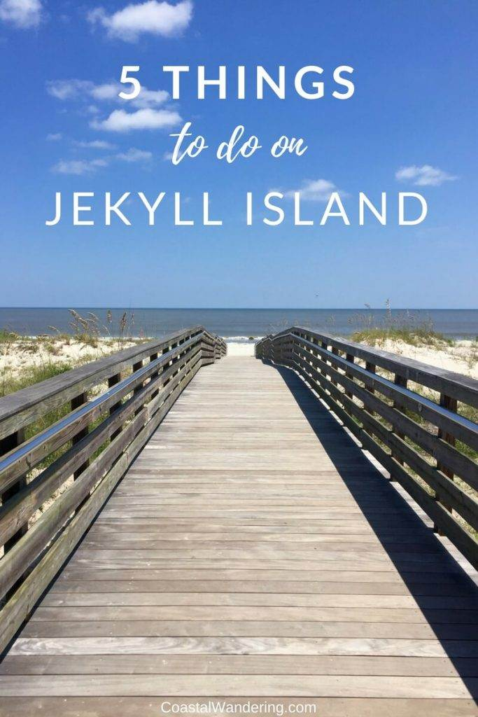 5 things to do in Jekyll Island, boardwalk to beach