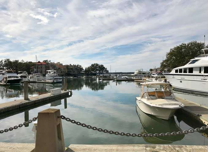 Harbour Town yacht marina