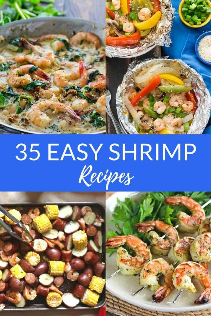 35 Easy & Delicious Shrimp Recipes