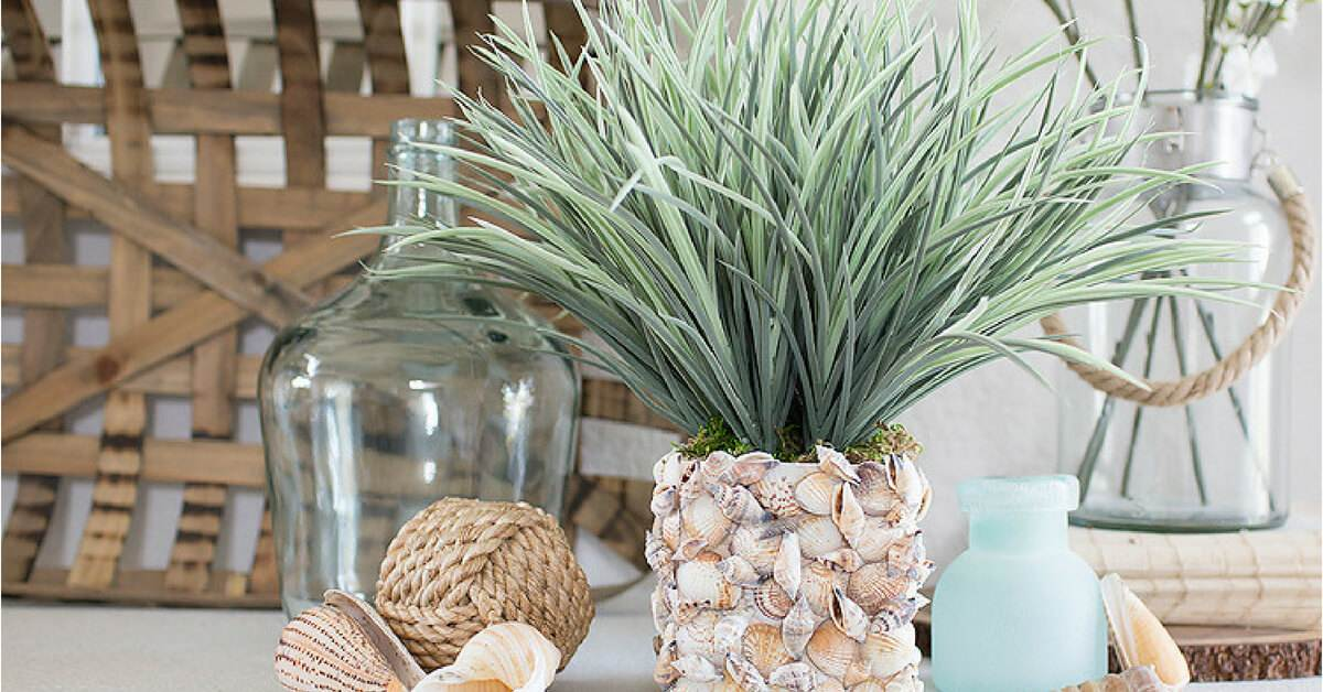 Pinterest Home All: 20 Easy DIY Seashell Crafts