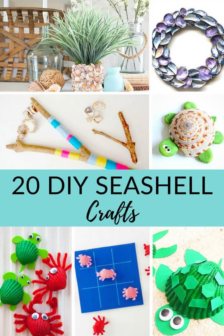 20 Easy DIY Seashell Crafts
