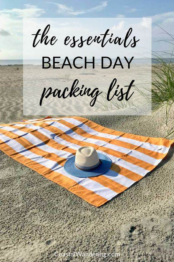 Essential Beach Gear for a Day at the Beach | Nothing says summer—or vacation—like a day at the beach. Here's everything you need to make sure your day at the beach is as relaxing as possible.