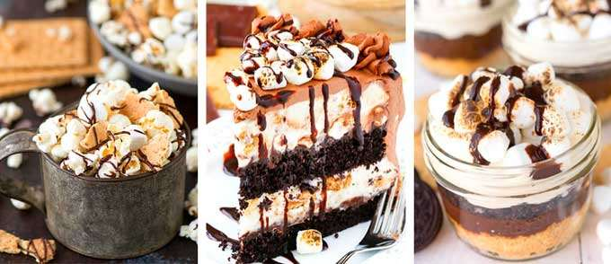 S'mores desserts