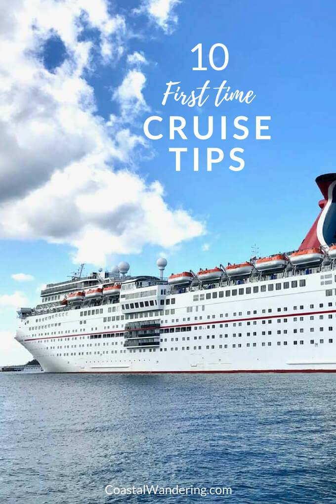 10 First Time Cruise Tips - Carnival Cruise Ship - CoastalWandering.com