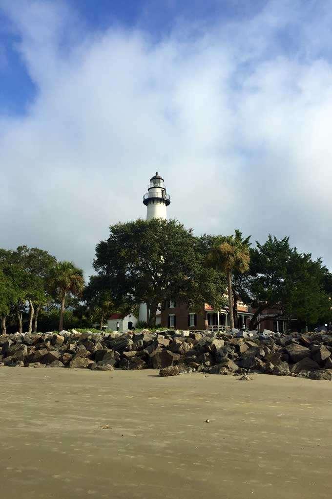 Lighthouse in Saint Simons Island
