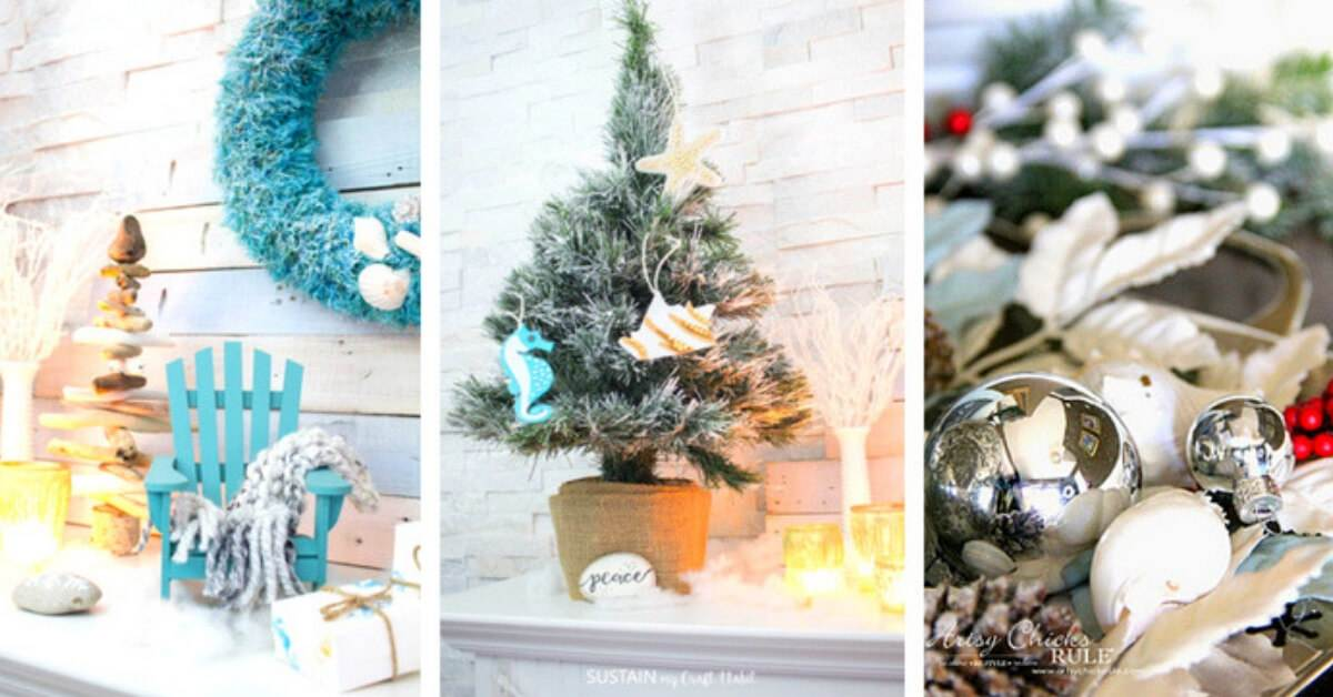 16 Coastal Christmas Decorations To Diy Coastal Wandering