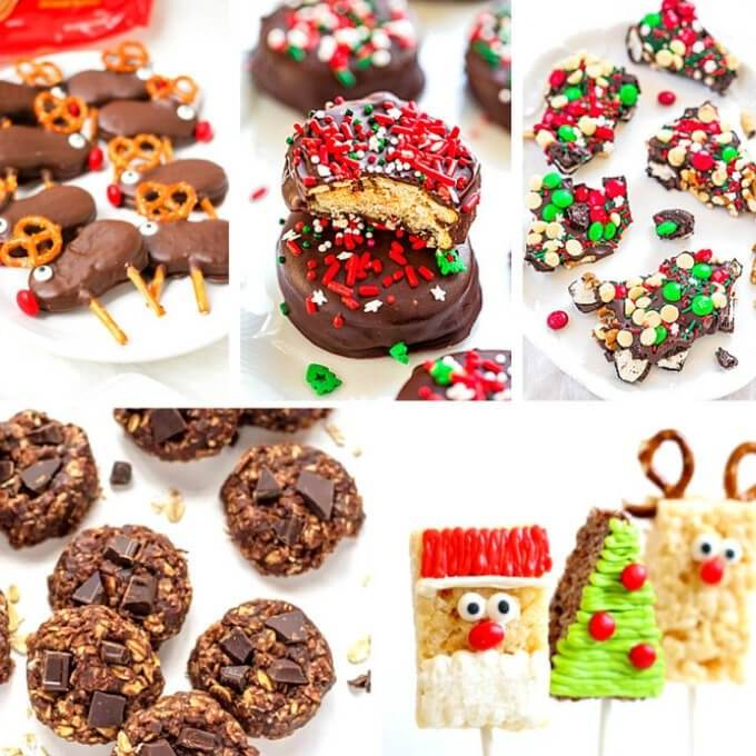 20 Delicious No Bake Christmas Cookie Recipes To Make Right Now Coastal Wandering