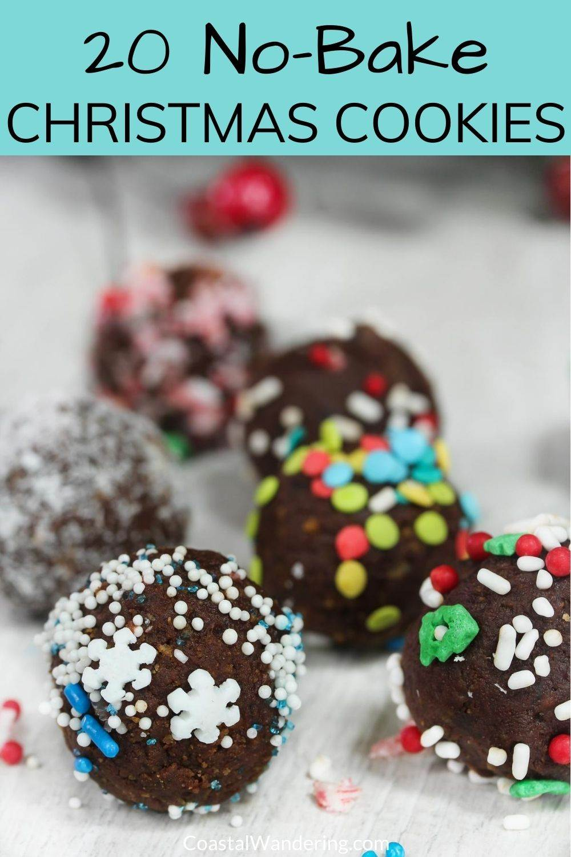 20 Easy No-Bake Christmas Cookies To Make Now