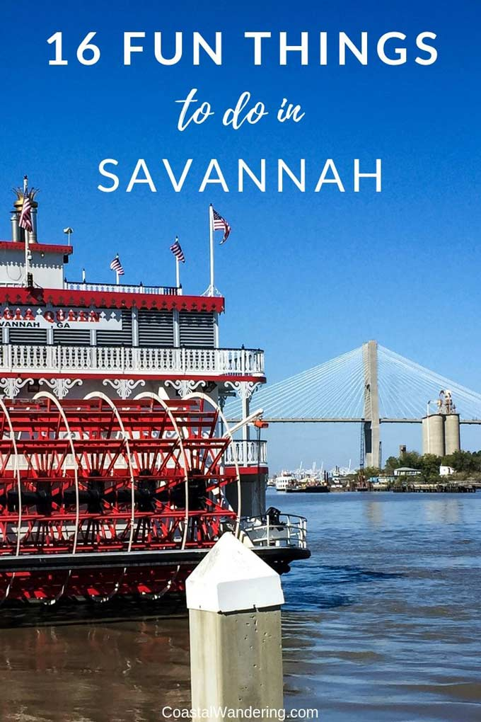 16 Fun Things to do in Savannah