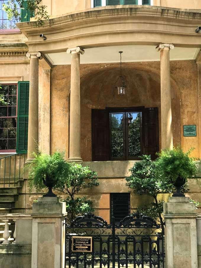 The Owens-Thomas House in Savannah, Georgia
