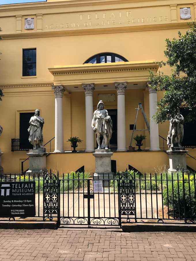 Telfair Academy of Arts & Sciences in Savannah, GA