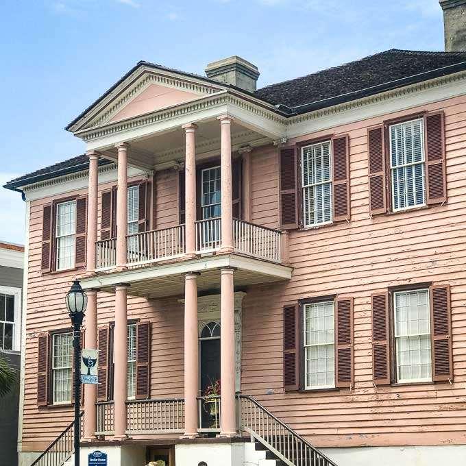 John Mark Verdier House in historic Beaufort, SC