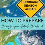 Hurricane season ahead - how to prepare, things you didn't think of (hurricane map)