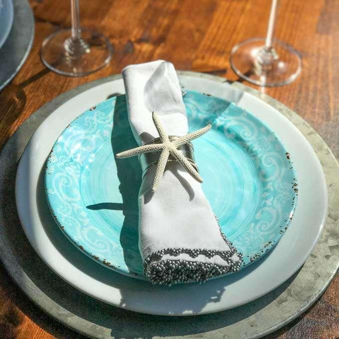 Starfish Napkin Ring - DIY Seashell Crafts