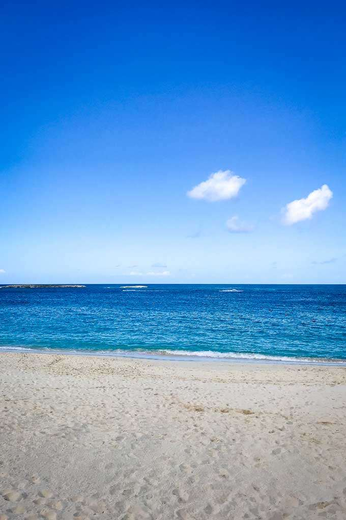 Atlantis Beach near Nassau, Bahamas - Coastal Wandering