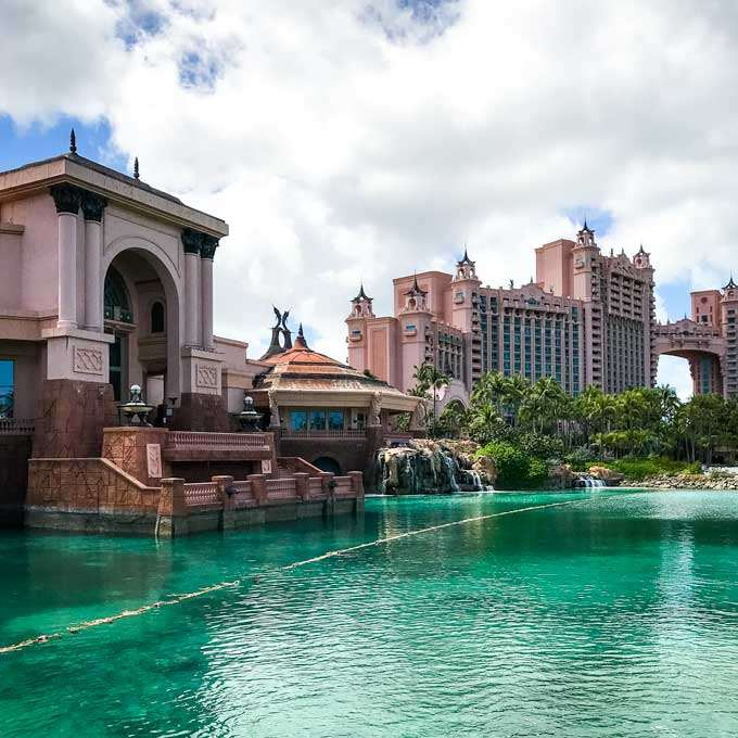 Atlantis Bahamas resort on Paradise Island - Coastal Wandering
