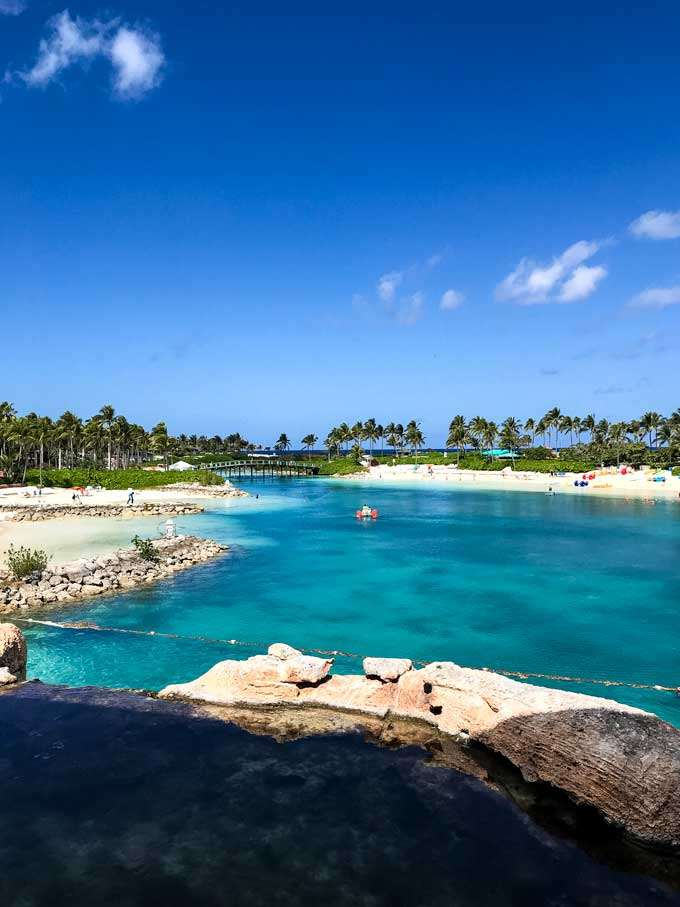 Atlantis resort lagoon on Paradise Island Bahamas - Coastal Wandering