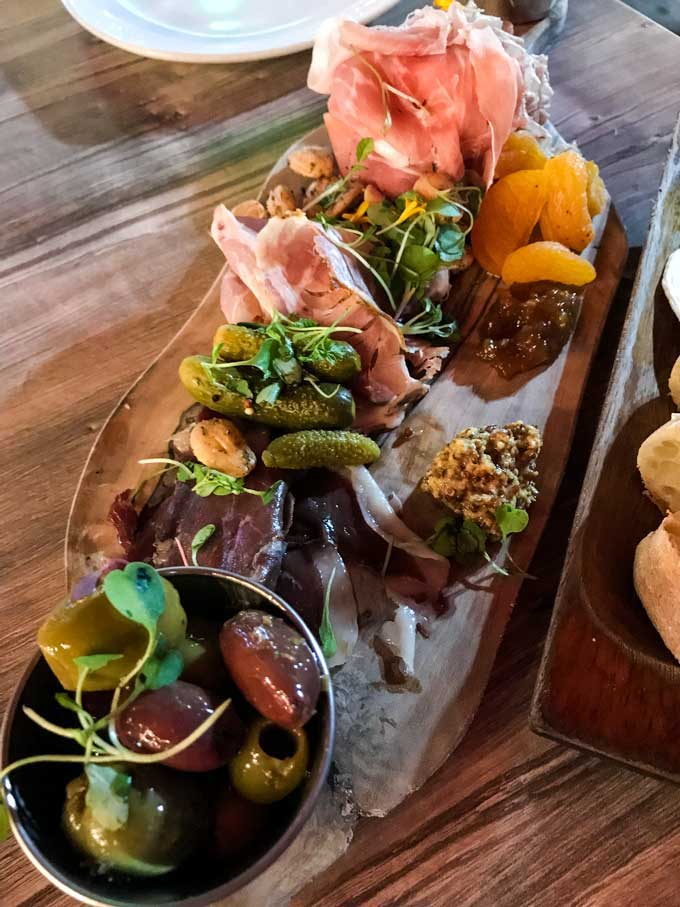 St Petersburg Florida Restaurants Charcuterie - Coastal Wandering