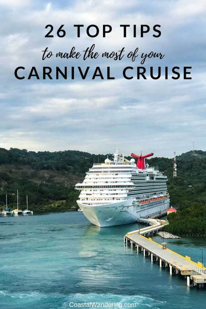 Carnival Cruise Tips You Need To Know - Coastal Wandering