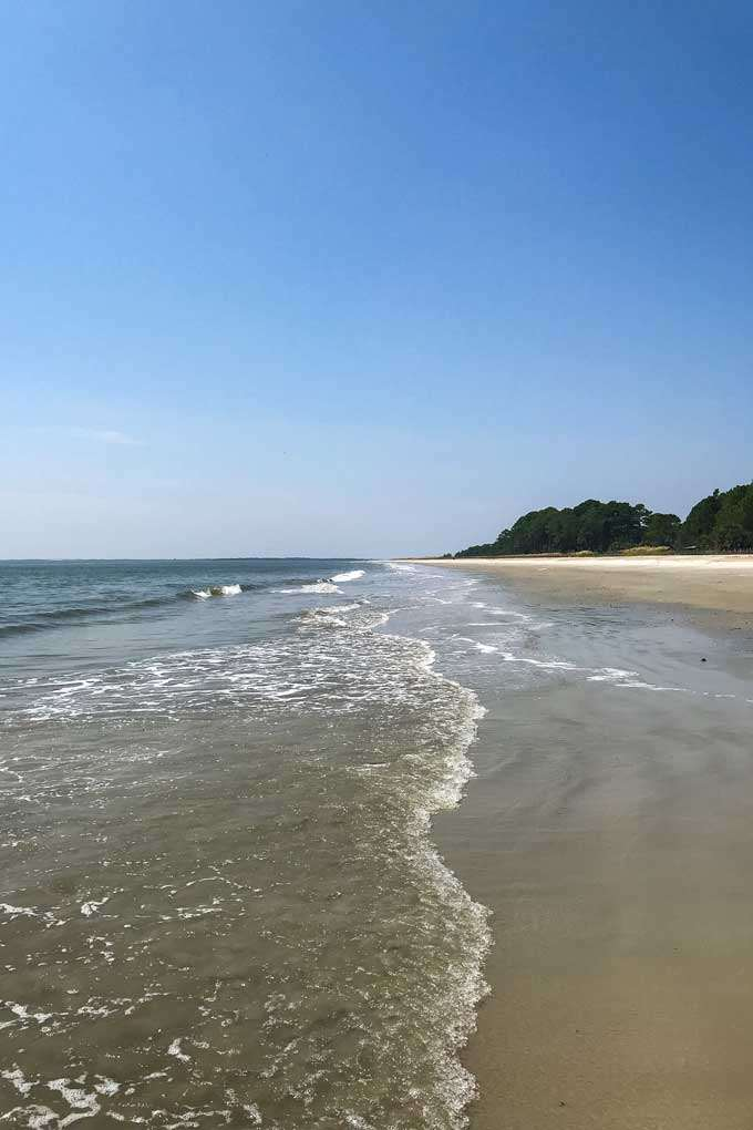 Daufuskie Beach on Daufuskie Island, South Carolina