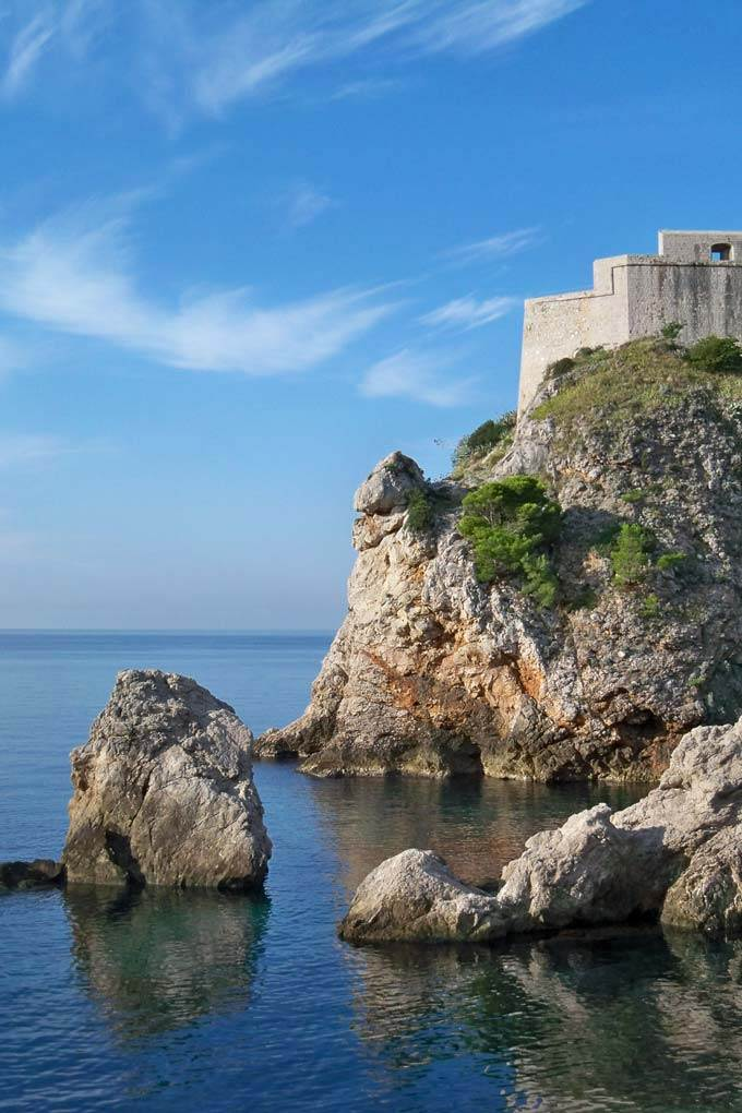 European cruise Dubrovnik Croatia - Coastal Wandering