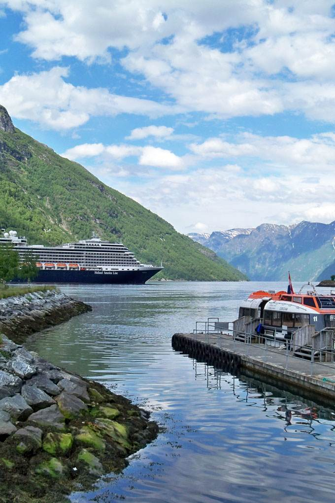 European cruise Geiranger Norway - Coastal Wandering