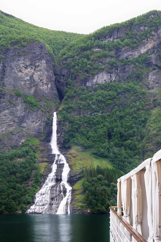 European cruise sailing Norwegian fjords - Coastal Wandering