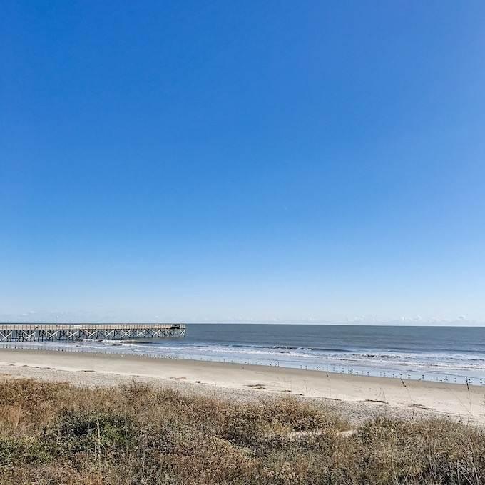 Isle of Palms beach pier near Charleston South Carolina - Coastal Wandering