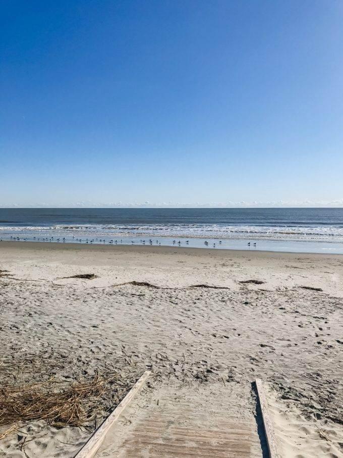 Charleston South Carolina beaches Isle of Palms - Coastal Wandering