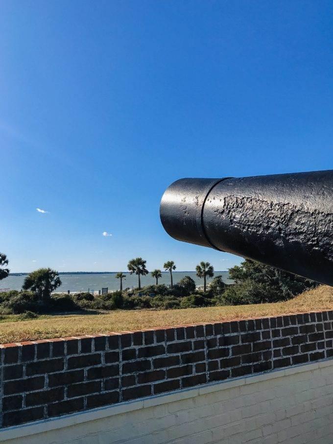Sullivans Island SC Fort Moultrie - Coastal Wandering