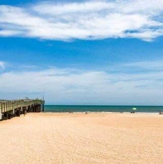St Augustine Beach pier - Coastal Wandering