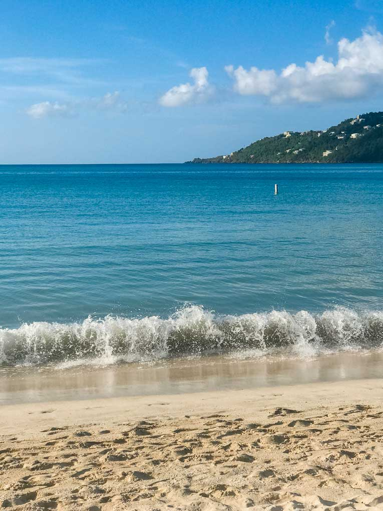 St. Thomas beach at Magens Bay