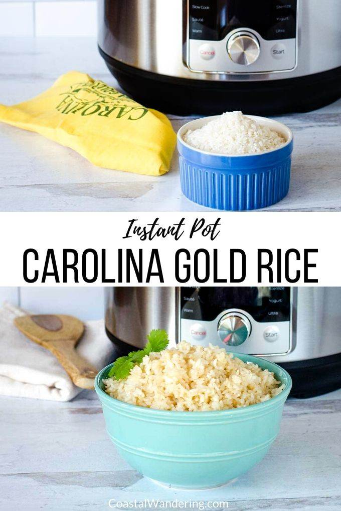 How To Cook Carolina Gold Rice In An Instant Pot