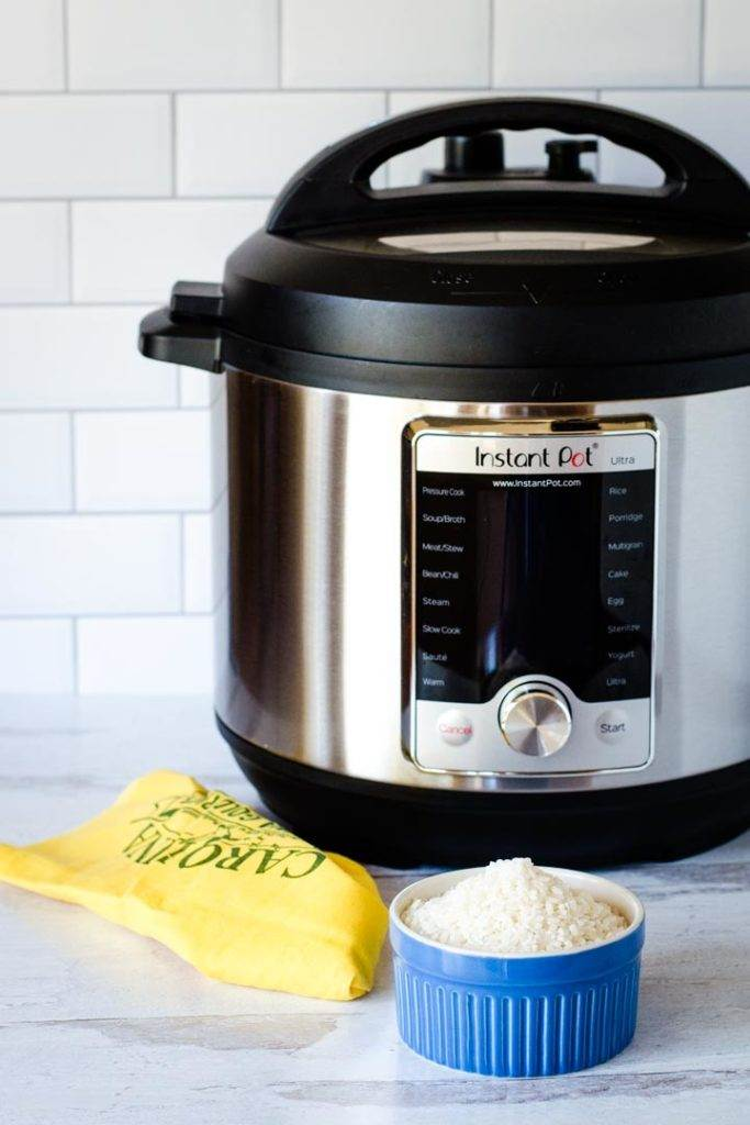 Carolina Gold rice with Instant Pot