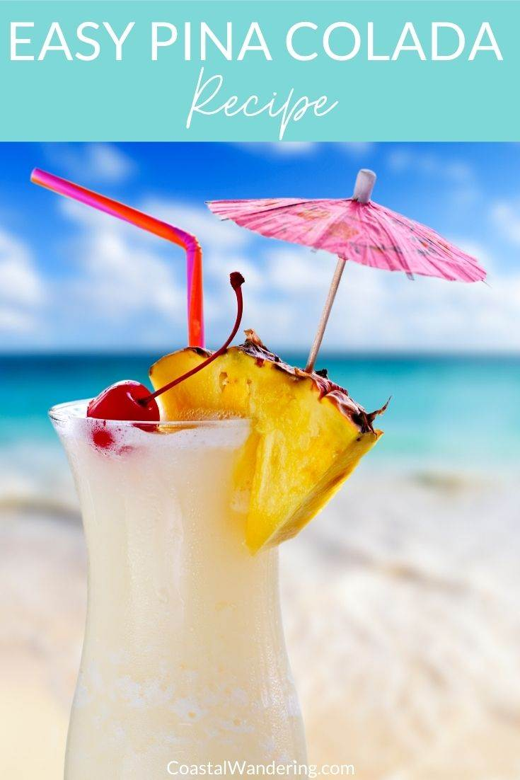 Easy pina colada recipe