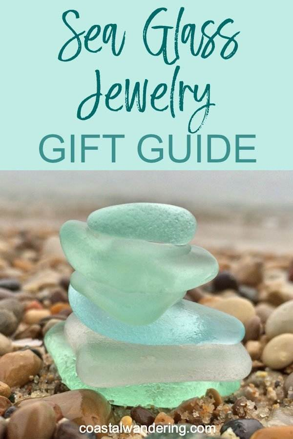 Sea glass jewelry gift guide