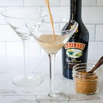 Pumpkin spice martini with Baileys