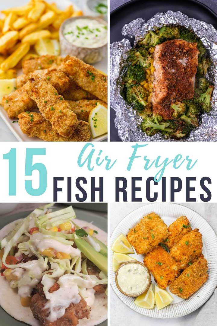 15 air fryer fish recipes