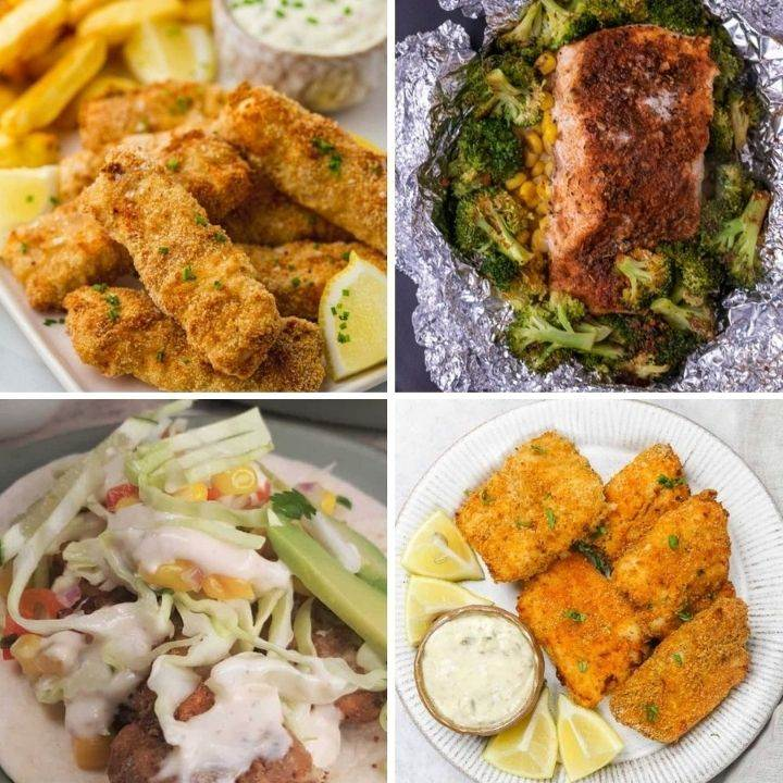 Airfryer fish recipes