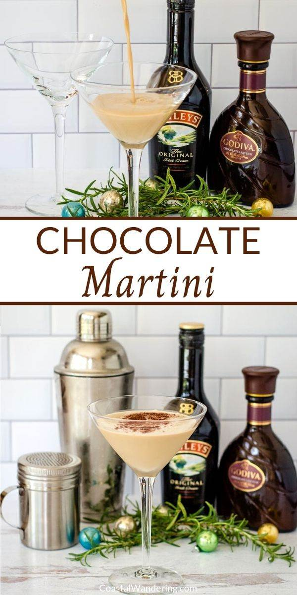Godiva Chocolate Martini Recipe That\'s Perfect For Dessert