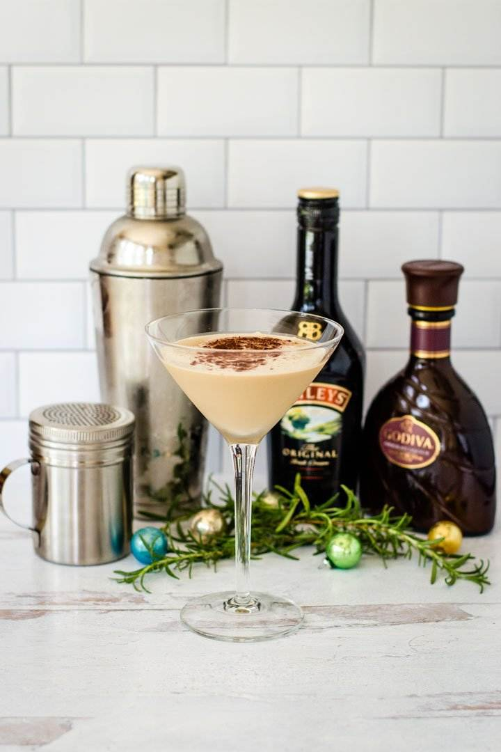 Chocolate Martini with Godiva and Baileys