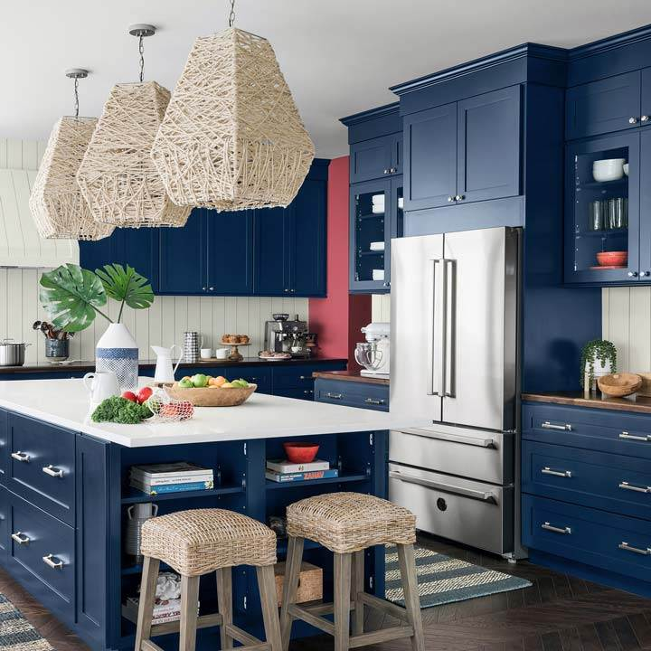 Newport Dream Home coastal kitchen