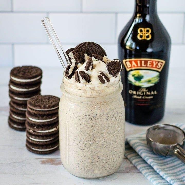 Baileys Cookies and Cream Milkshake
