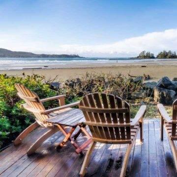 Coastal outdoor porch decor