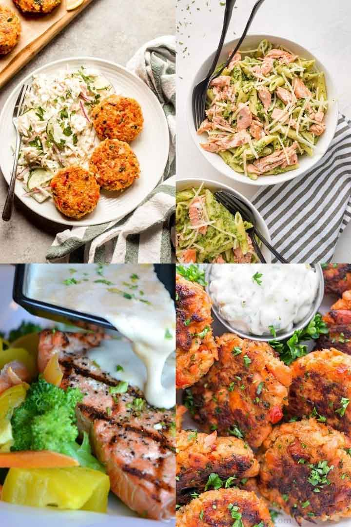 Leftover salmon recipes