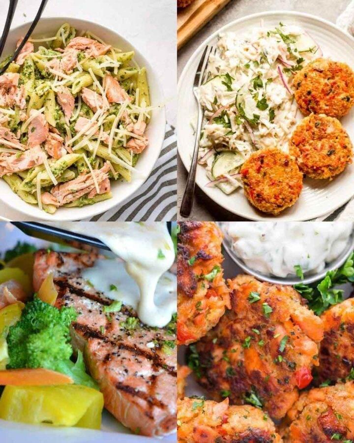Leftover salmon recipes