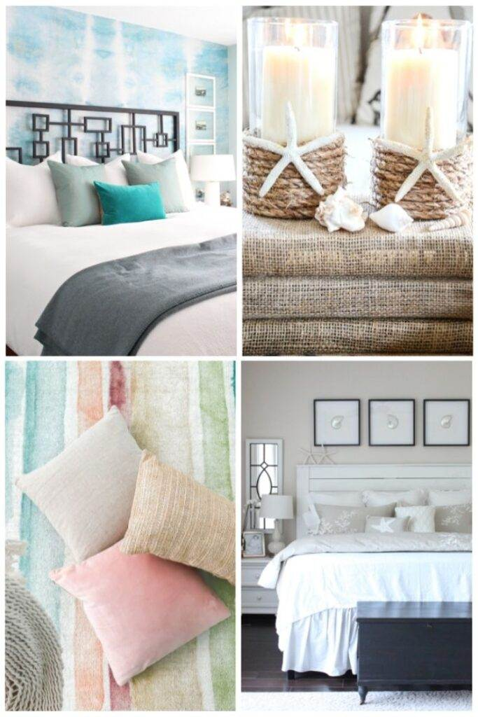 beach bedrooms and accessories