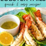 Air fryer lobster tails - quick & easy recipe!