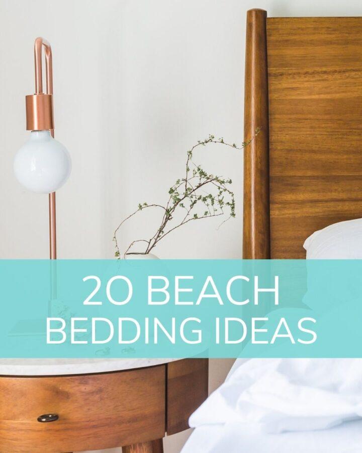 20 beach bedding ideas