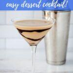 Tiramisu martini recipe - easy dessert cocktail!